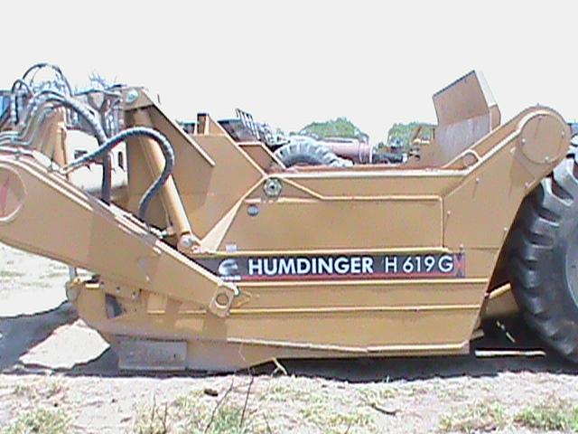 H620 HUMDINGER PULL SCRAPER2006-2015 MODELS